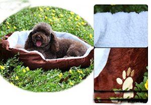 Cama para mascotas acolchada