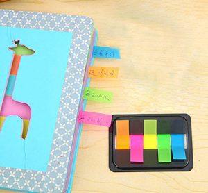 Pack de mini post-it de colores