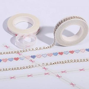 Set de 4 rollos de washi tape