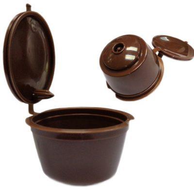 Capsulas recargables de café para cafeteras Nescafe Dolce Gusto