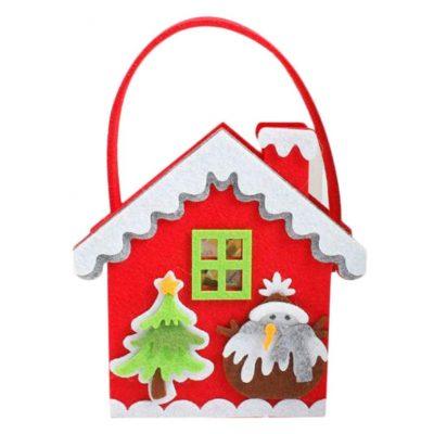 Bolsa para caramelos de Navidad