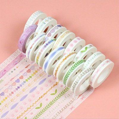Set de 4 rollos de washi tape