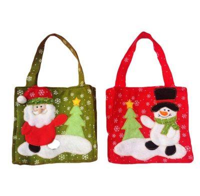 Set de 2 bolsas de Navidad