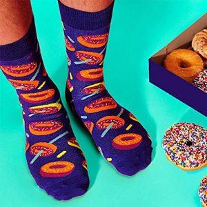 Calcetines de donuts
