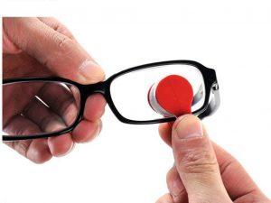 Limpiador de cristales de gafas
