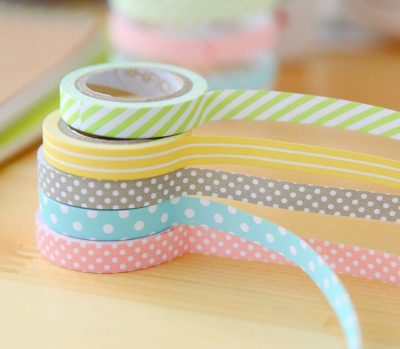 Set de 5 rollos de washi tape